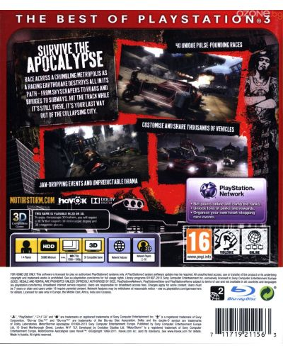 MotorStorm: Apocalypse - Essentials (PS3) - 3