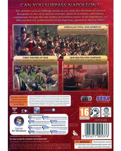 Napoleon: Total War - Total War Collection (PC) - 2