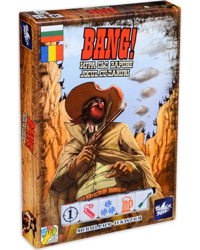 Joc de societate BANG! Joc cu zaruri - party - 1