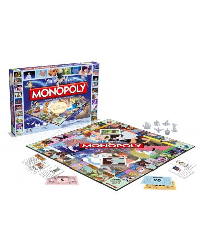 Joc de societate Hasbro Monopoly - Disney Classics - 3