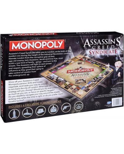 Joc de masa Hasbro Monopoly - Assassins's Creed Syndicate - 2
