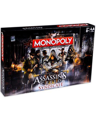 Joc de masa Hasbro Monopoly - Assassins's Creed Syndicate - 1