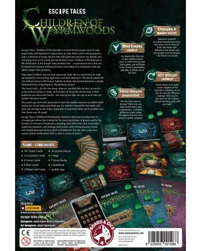 Joc de societate Escape Tales: Children of Wyrmwood - de familie - 3