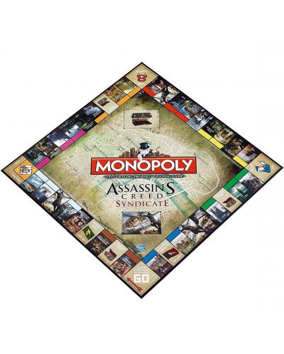 Joc de masa Hasbro Monopoly - Assassins's Creed Syndicate - 3