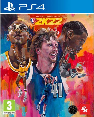 NBA 2K22 - 75th Anniversary Edition (PS4) - 1