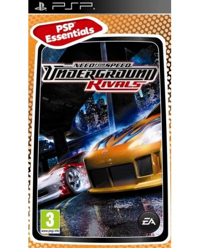 Need For Speed Underground : Rivals - Platinum (PSP) - 1