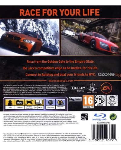 Need For Speed: The Run - Essentials (PS3) - 17