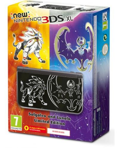 New Nintendo 3DS XL - Solgaleo and Lunala Limited Edition - 1