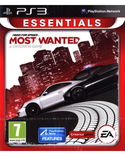 Need For Speed Most Wanted - Essentials (PS3) - 1