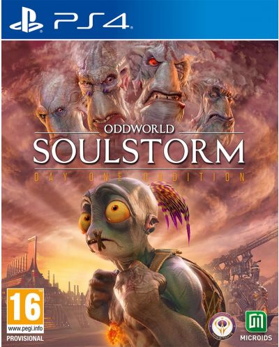 Oddworld Soulstorm Day One Oddition (PS4) - 1