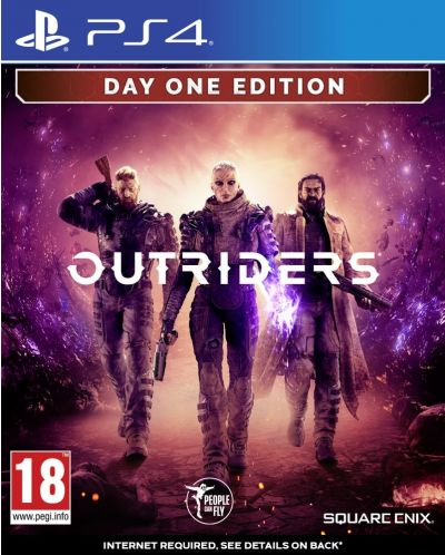 Outriders - Deluxe Edition (PS4) - 1