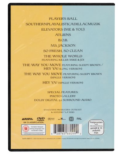 Outkast - The Videos (DVD) - 2