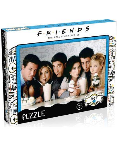 Puzzle Winning Moves de 1000 piese -Friends milkshake - 1