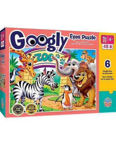 Puzzle Master Pieces de 100piese - Zoo Animals - 1