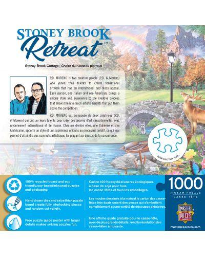 Puzzle Master Pieces de 1000 piese - Stoney Brook Cottage - 3