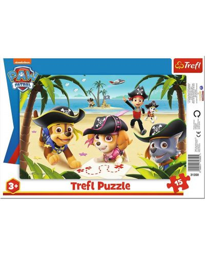Puzzle Trefl de 15 piese - Friends from Paw Patrol - 1