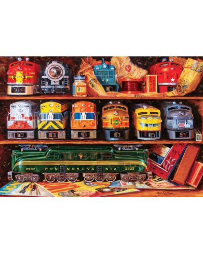Puzzle Master Pieces de 2000 piese - Well Stocked Shelves - 2