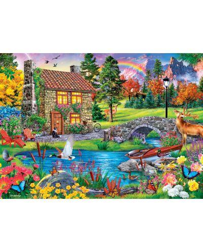 Puzzle Master Pieces de 1000 piese - Stoney Brook Cottage - 2