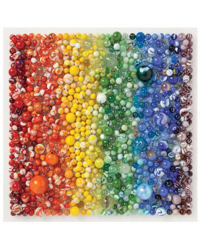 Puzzle Galison de 500 piese - Rainbow Marbles  - 2