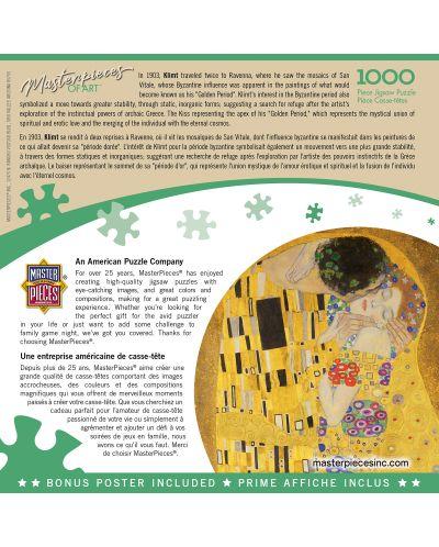 Puzzle Master Pieces de 1000 piese - The Kiss - 3