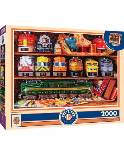Puzzle Master Pieces de 2000 piese - Well Stocked Shelves - 1