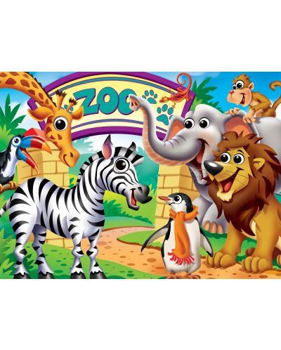 Puzzle Master Pieces de 100piese - Zoo Animals - 2