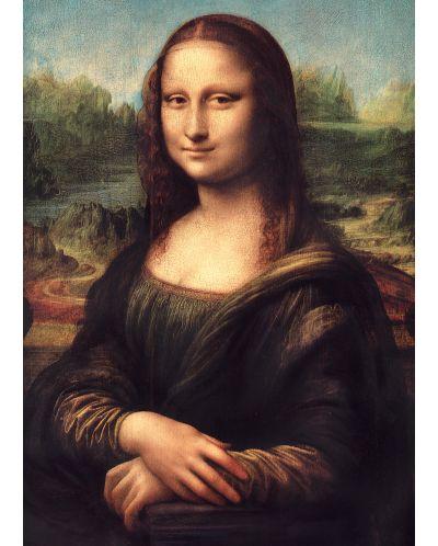 Puzzle  Master Pieces de 1000 piese - Mona Lisa - 2