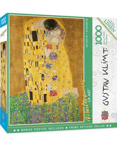 Puzzle Master Pieces de 1000 piese - The Kiss - 1