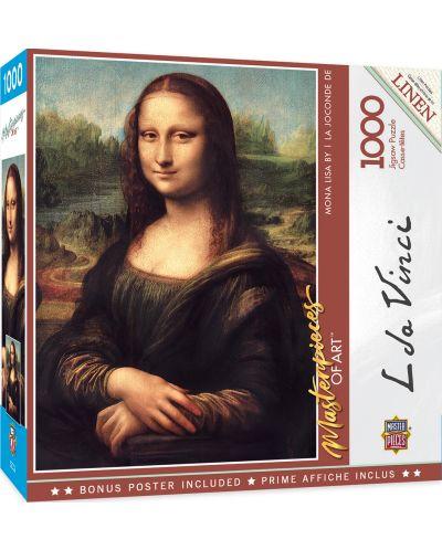 Puzzle  Master Pieces de 1000 piese - Mona Lisa - 1