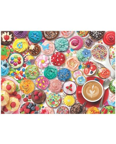 Puzzle Eurographics de 1000 piese - Cupcake Party Tin - 2