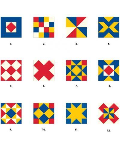 Puzzle-uri cubulete Pomegranate de 16 piese - Matrice colorate - 2
