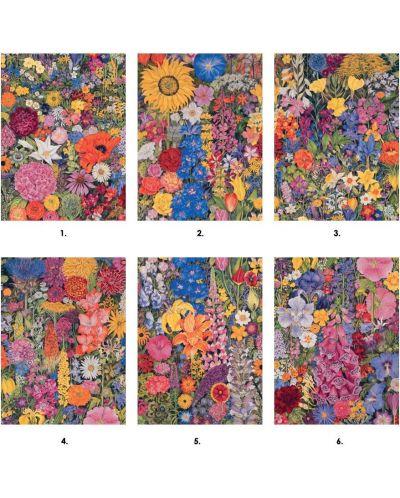Puzzle-uri cubulete Pomegranate de 12 piese - Flori, Rosalinda Wise - 2