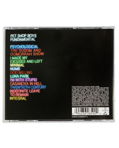 Pet Shop Boys - Fundamental (CD) - 2