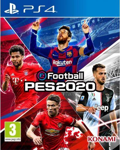eFootball Pro Evolution Soccer 2020 (PS4) - 1