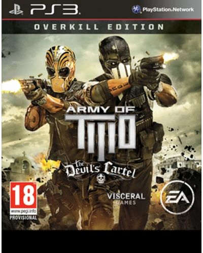 Army of Two: The Devil's Cartel - Limited Overkill Edition (PS3) - 1