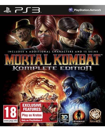 Mortal Kombat - Komplete Edition (PS3) - 1