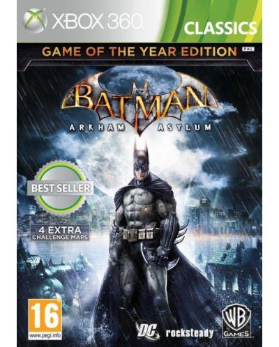 Batman: Arkham Asylum GOTY (Xbox 360) - 1