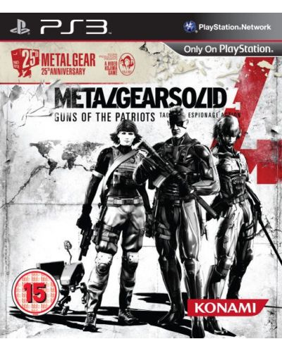 Metal Gear Solid 4 Guns Of the Patriots - 25th Anniversary Edition (PS3) - 1