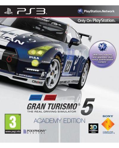 Gran Turismo 5 - Academy Edition (PS3) - 1