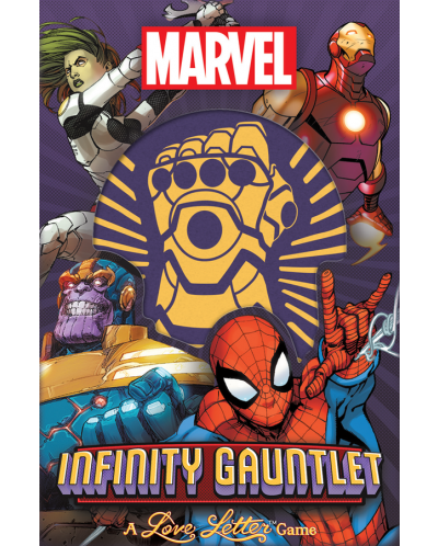 Joc de societate Infinity Gauntlet: A Love Letter Game - de familie - 1