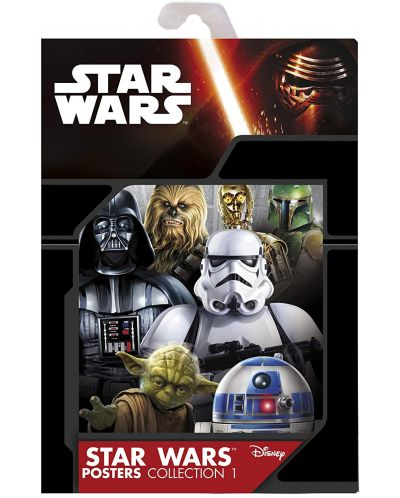 Postere ABYstyle Movies: Star Wars - Saga, 9 buc. - 1