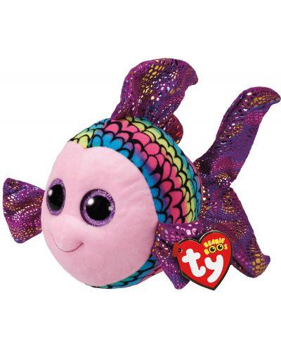 Jucarie de plus TY Toys Beanie Boos - Pestisor Flippy, colorat, 15 cm - 1
