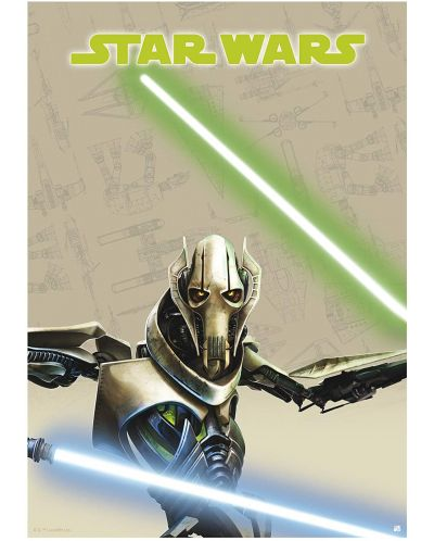 Postere ABYstyle Movies: Star Wars - Saga, 9 buc. - 9
