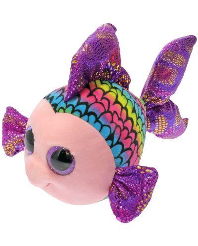 Jucarie de plus TY Toys Beanie Boos - Pestisor Flippy, colorat, 15 cm - 2