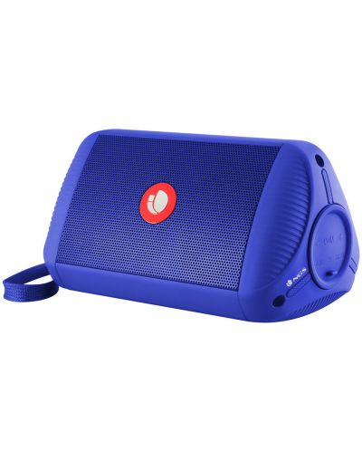 Boxa portabila NGS - Roller Ride, albastra - 1