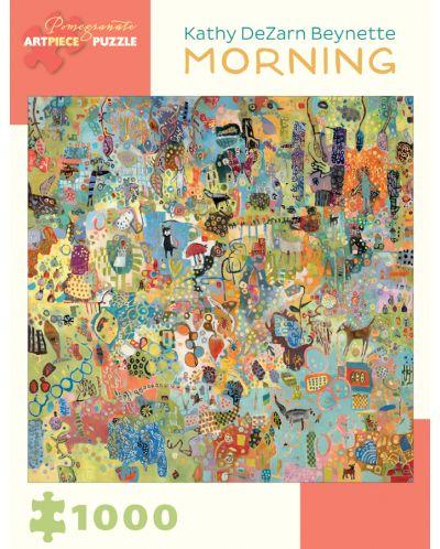 Puzzle Pomegranate de 1000 piese - Dimineata, Catherine Beynet - 1