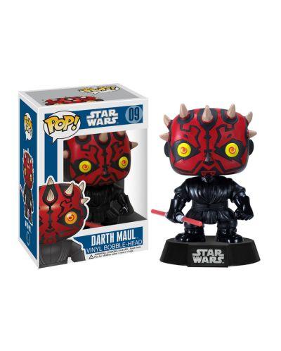 Figurina Funko Pop! Star Wars - Darth Maul, #09 - 2