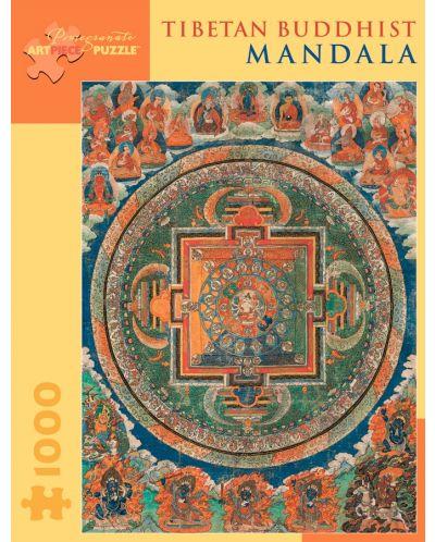 Puzzle Pomegranate de 1000 piese - Mandala - 1