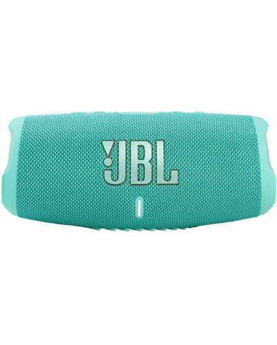 Boxa portabila JBL - Charge 5, albastru deschis - 1