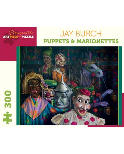 Puzzle Pomegranate de 300 piese - Papusi si marionete, Jay Burch - 1